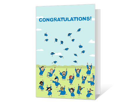 image about Free Printable Funny Graduation Cards named Commencement Playing cards - Printable Commencement Playing cards towards American