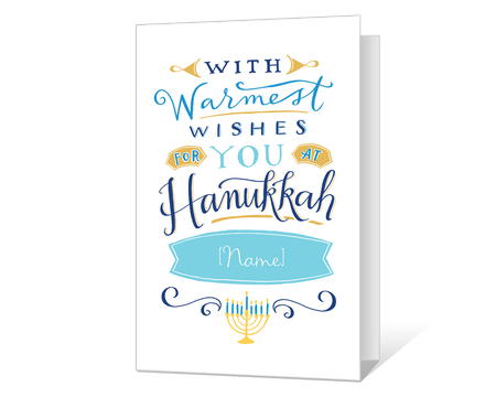 graphic regarding Free Printable Hanukkah Cards named Printable hanukkah Playing cards - American Greetings