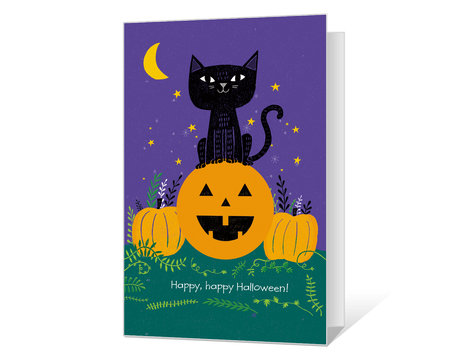 photo relating to Printable Halloween Cards referred to as Halloween Playing cards - Print Frightful Greetings at American