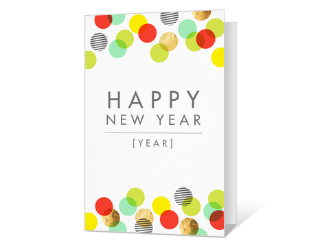 image relating to Printable New Year Cards named Printable fresh new yrs Playing cards - American Greetings
