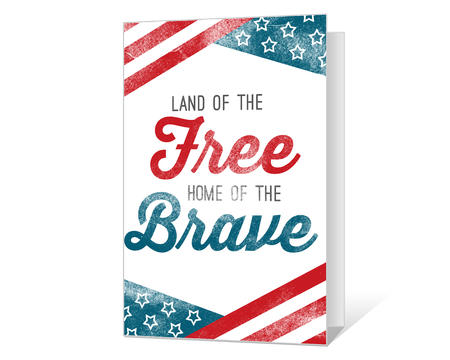 Printable 4th Of July Cards