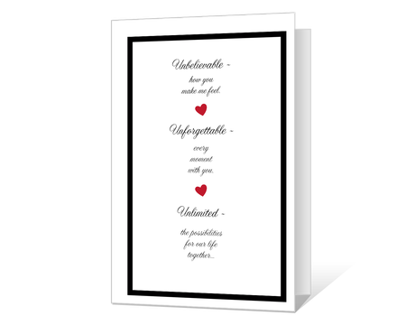 image about Free Printable Love Cards named Printable Appreciate Playing cards Print versus American Greetings