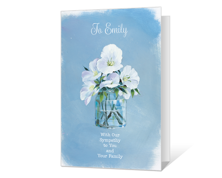 graphic relating to Printable Condolence Cards known as Printable sympathy Playing cards - American Greetings