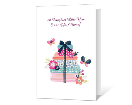 Printable Birthday Cards For Daughter