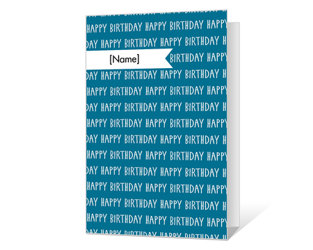 photo relating to Printable Birthday Cards for Him referred to as Printable birthday Playing cards for him - American Greetings