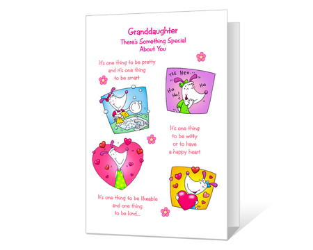 photo about Free Printable Granddaughter Birthday Cards named Printable birthday Playing cards for granddaughter - American Greetings
