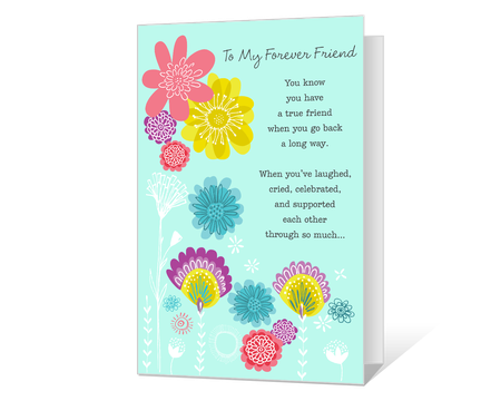 Printable friendship cards american greetings my forever friend printable m4hsunfo