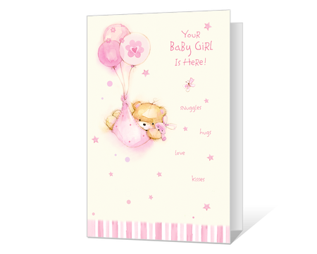 New Baby Girl Printable