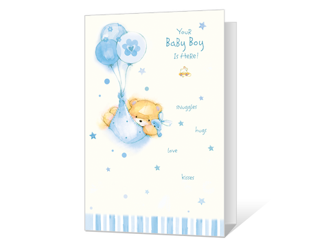 New Baby Boy Printable