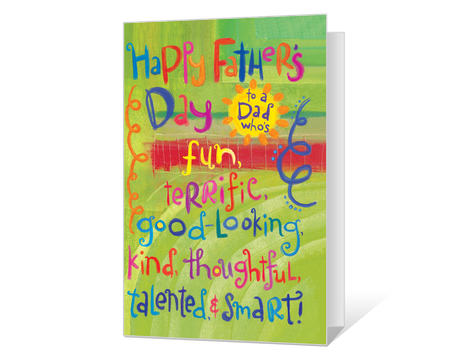 picture relating to Printable Fathers Day Cards referred to as Printable Fathers Working day Playing cards Print In opposition to American Greetings