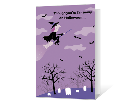 graphic regarding Printable Halloween Card identify Halloween Playing cards - Print Frightful Greetings at American