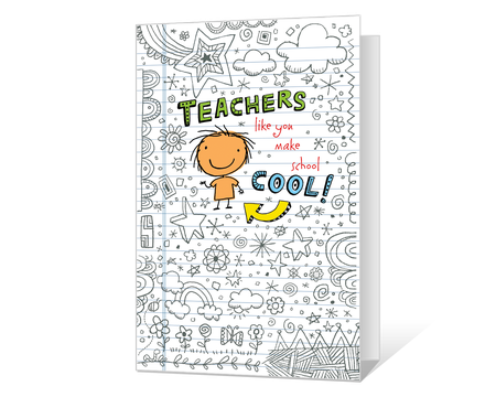 image relating to Printable Thank You Cards for Teacher known as Printable thank on your own Playing cards for instructors - American Greetings