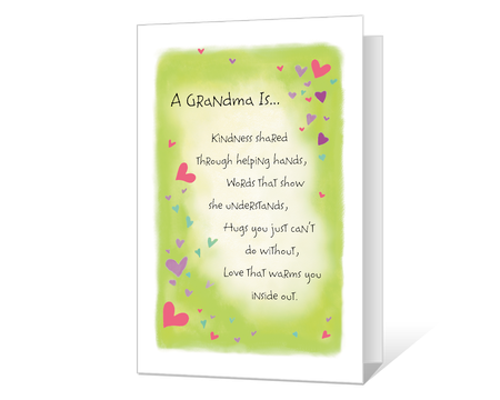 A Grandma Is Kindness Printable