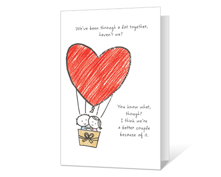 image about Printable I Love You Cards identified as Printable Delight in Playing cards Print versus American Greetings