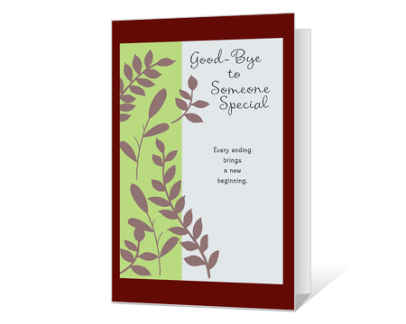 picture about Printable Good Luck Cards titled Printable favourable bye favourable luck Playing cards - American Greetings