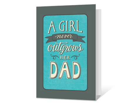 graphic relating to Happy Fathers Day Card Printable identify Printable Fathers Working day Playing cards Print Towards American Greetings