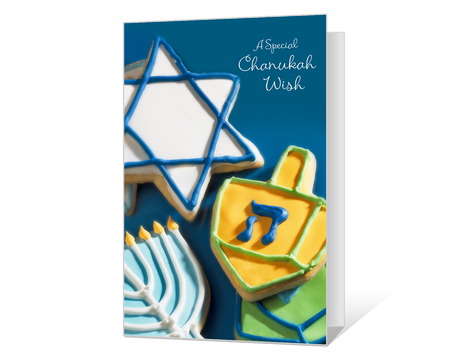 graphic about Printable Hanukkah Card titled Printable hanukkah Playing cards - American Greetings