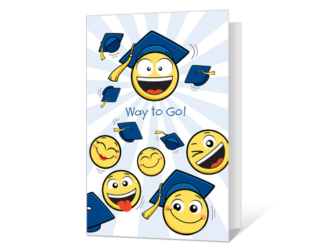 photograph about Printable Grad Cards called Commencement Playing cards - Printable Commencement Playing cards in opposition to American