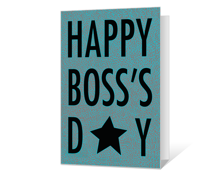 Printable Bosss Day Cards