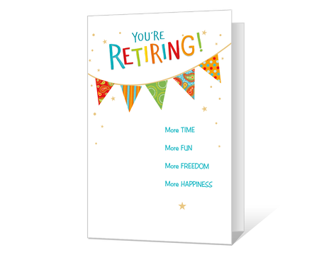 graphic relating to Retirement Card Printable named Printable retirement Playing cards - American Greetings