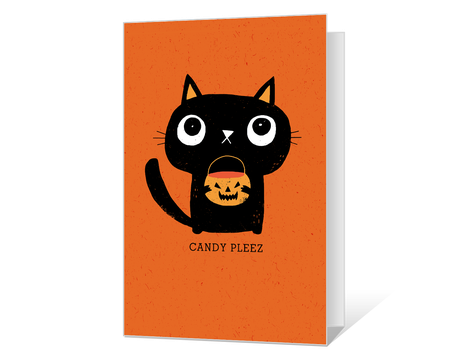 photo about Printable Halloween Cards called Halloween Playing cards - Print Frightful Greetings at American