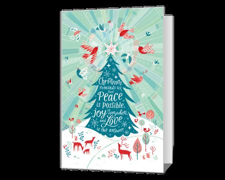 Printable Christmas Cards Print Christmas Greetings At