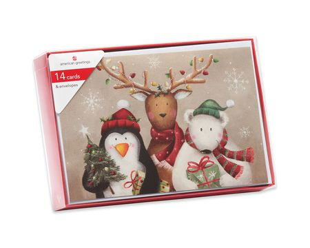 Unique Boxed Christmas Cards.Boxed Christmas Holiday Greeting Cards American Greetings