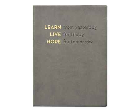 Eccolo Learn Live Hope Essential Journal