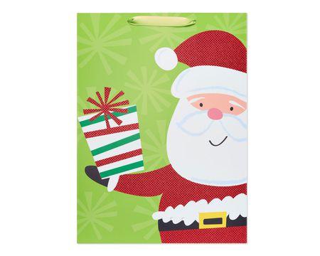 Giving Santa Jumbo Christmas Gift Bag