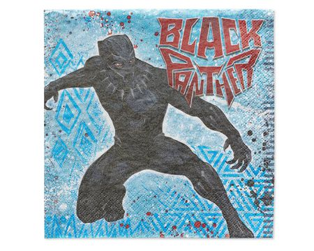 Black Panther Lunch Napkins, 16-Count