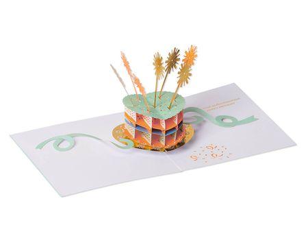 Birthday Cake Pop-Up Birthday  Card