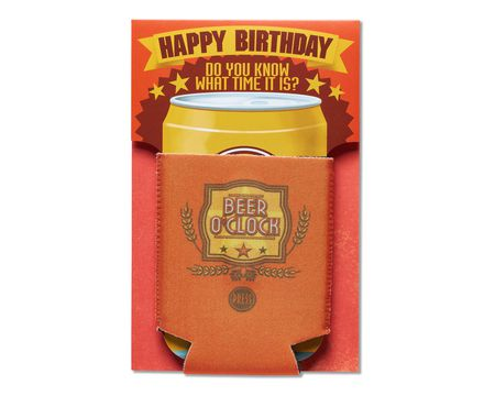 Beer O' Clock Birthday Card