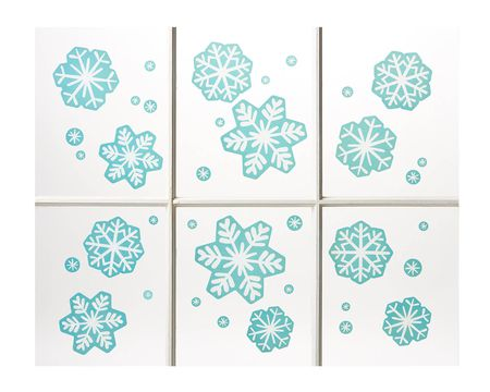 Snowflake Window Decorations, 36-Count
