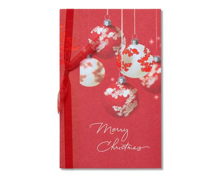 Heartfelt christmas paper cards for anyone shop american greetings ornaments christmas card m4hsunfo