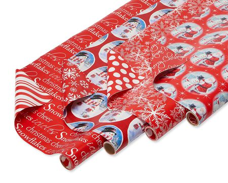 Reversible gift wrap american greetings m4hsunfo