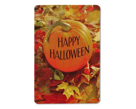 Pumpkin Halloween Card, 6-Count