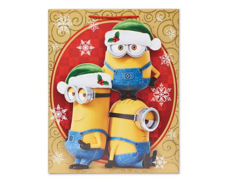 Gift bags american greetings minions large christmas gift bag m4hsunfo Image collections