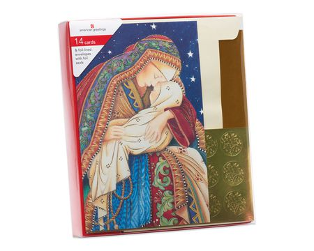 boxed religious christmas cards shop american greetings