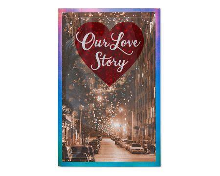 Love Story Valentine's Day Card