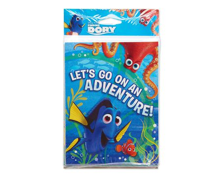 finding dory invite and thank you combo pack 8 ct