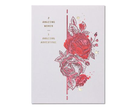 Wedding engagement paper cards shop american greetings amazing adventure wedding card for brides m4hsunfo