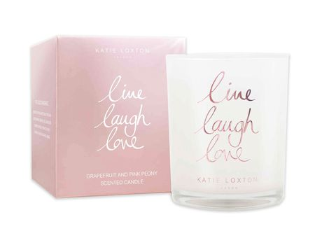 Katie Loxton Live Laugh Love Candle