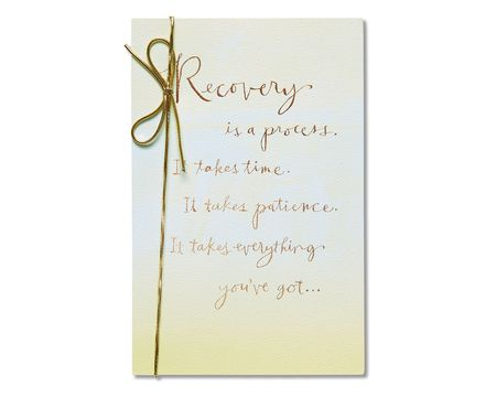 Paper get well greeting cards for anyone shop american greetings recovery get well card m4hsunfo