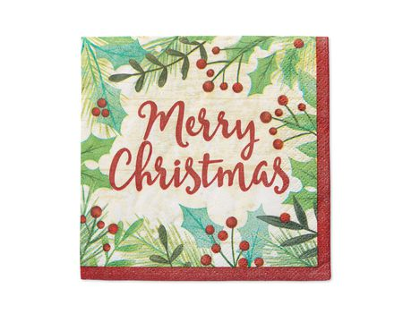 Christmas party napkins shop american greetings christmas party napkins m4hsunfo
