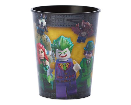Lego Batman™ 16 oz. Plastic Party Cup  sc 1 st  American Greetings & lego batman Party tableware - Shop American Greetings