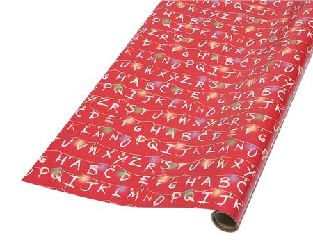 Stranger Things Christmas Wrapping Paper, 40 Total Sq. Ft.