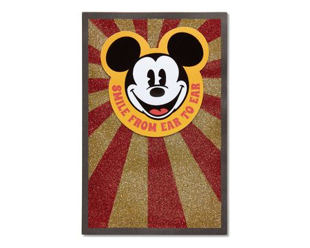 Paper disney birthday greeting cards shop american greetings mickey mouse birthday card m4hsunfo