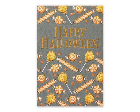 Paper greeting cards shop american greetings candy halloween card 6 count m4hsunfo