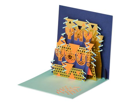 Yay You Pop-Up Congratulations Card