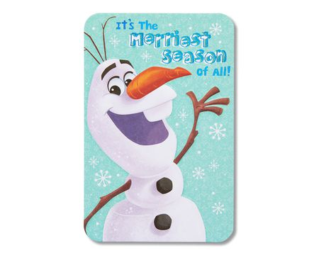 christmas frozen paper cards for kids - Shop American Greetings